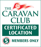 Caravan Club Certified Location - 5 Pitches in Essex
