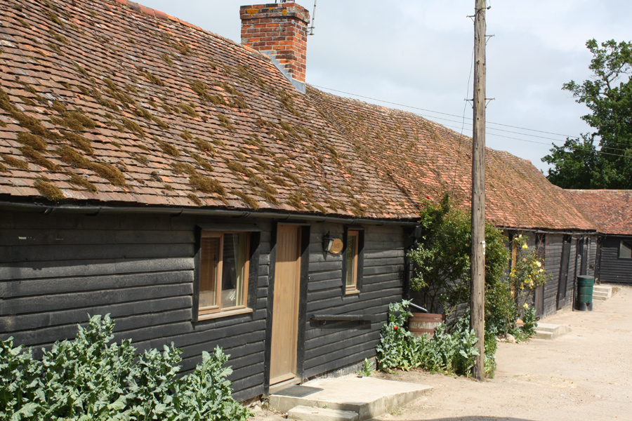Our self catering cottages set on a working farm in the Essex countryside