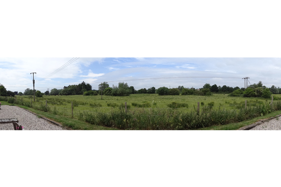 Panoramic view of the open Essex countryside surrounding our self catering cottages