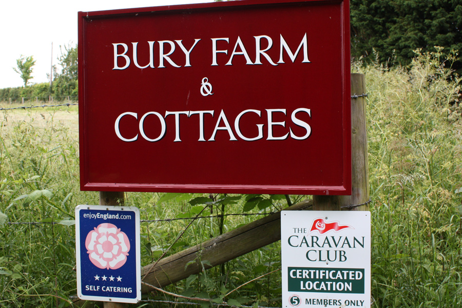 Welcome to Canfieldbury - 5 Caravan Pitches in the Essex countryside